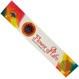 Green Tree Masala - Flower of Life Incense Sticks