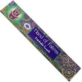 Green Tree Masala - Hand of Fatima Incense Sticks