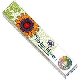 Green Tree Masala - Tibetan Flowers Incense Sticks