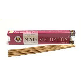 Vijayshree - Golden Nag Meditation Incense Sticks