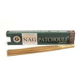 Vijayshree - Golden Nag Patchouli Incense Sticks