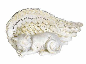 Cat Angel Memorial 17 x 8.5cm