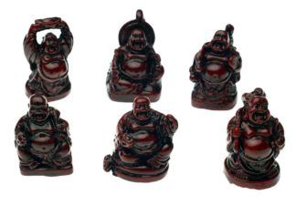 Small Buddhas - Set of 6