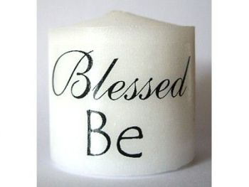 Candle - Blessed Be - 3.5cm