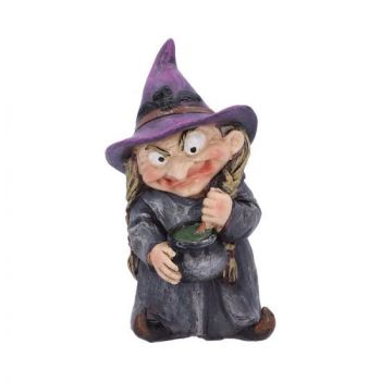 Witch and Cauldron Figurine -  Double Double