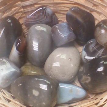 Tumblestone - Agate, Banded