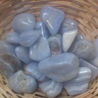 Tumblestone - Agate, Blue Lace