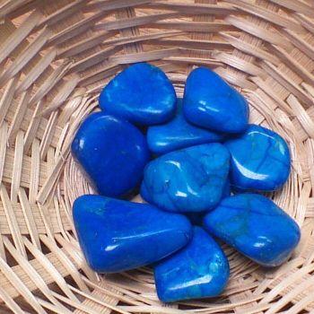 Tumblestone - Howlite, Blue