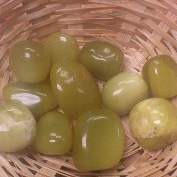 Tumblestone - Jade, Olive