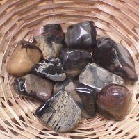 Tumblestone - Jasper, Satin Leaf