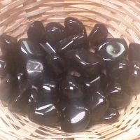 Tumblestone - Obsidian, Apache Tears
