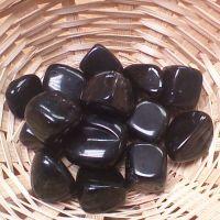 Tumblestone - Obsidian, Black