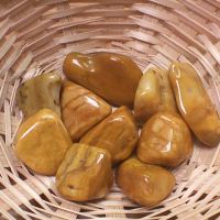 Tumblestone - Jasper, Yellow