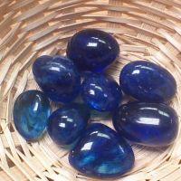 Tumblestone - Obsidian, Cobalt