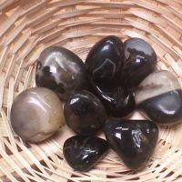Tumblestone - Onyx, Black