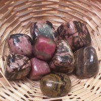 Tumblestone - Rhodonite