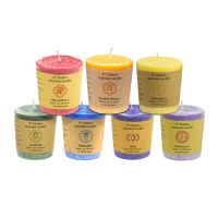 Chakra Votive Scented Candle Set