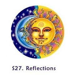 Window Sticker - Sun/Moon