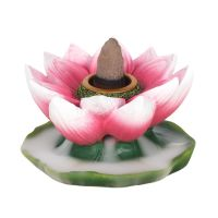 Backflow Incense Burner - Lotus 7cm