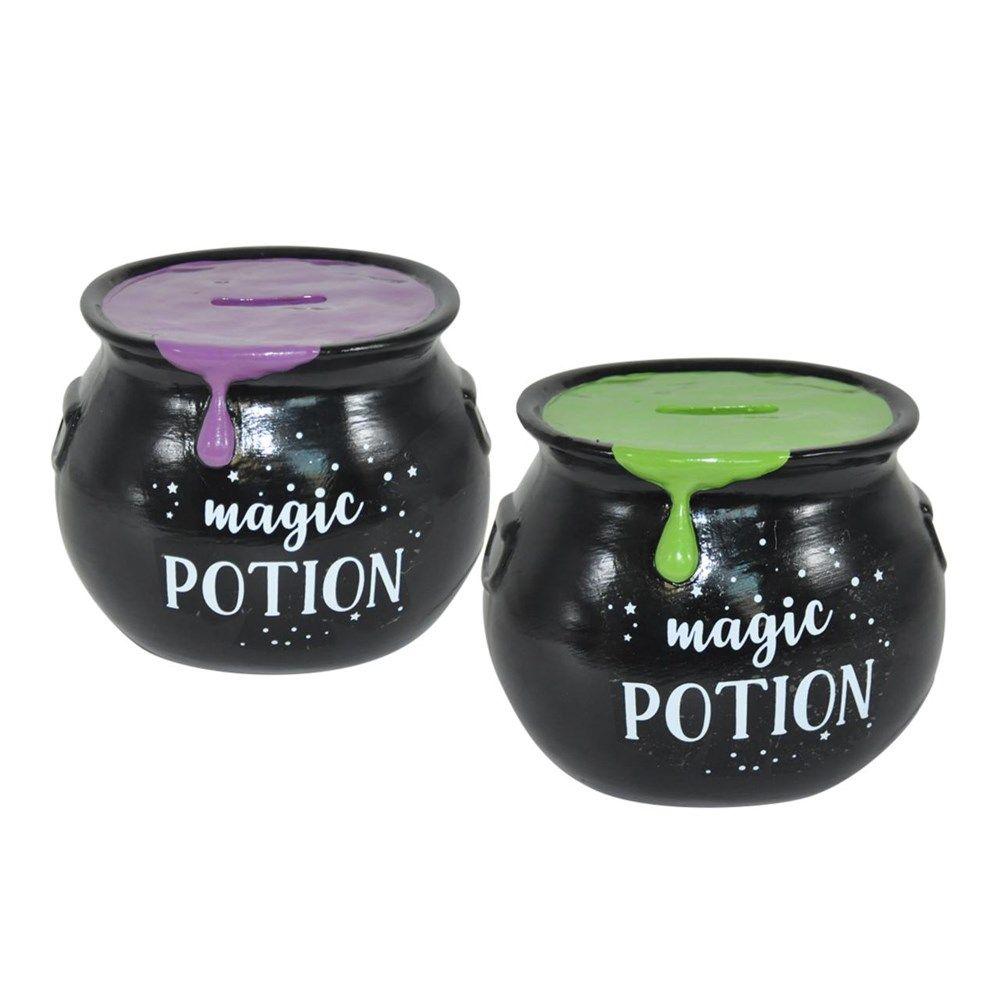 Magic Potion Cauldron Money Bank
