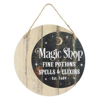 Magic Shop Sign