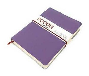 Artway Plain Doodle Notebook/Journal - Purple