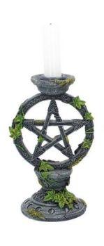 Wiccan Pentagram Candle Stick