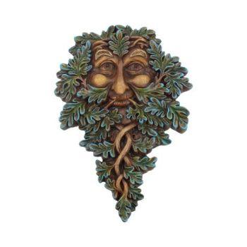 Tree Spirit Wall Plaque - Oak Guardian 19.5cm