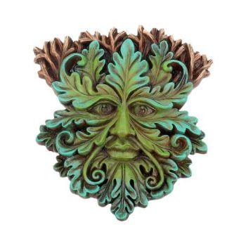 Tree Spirit Wall Plaque - Oak King 15cm