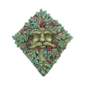 Tree Spirit Wall Plaque - Berry Beard 24cm