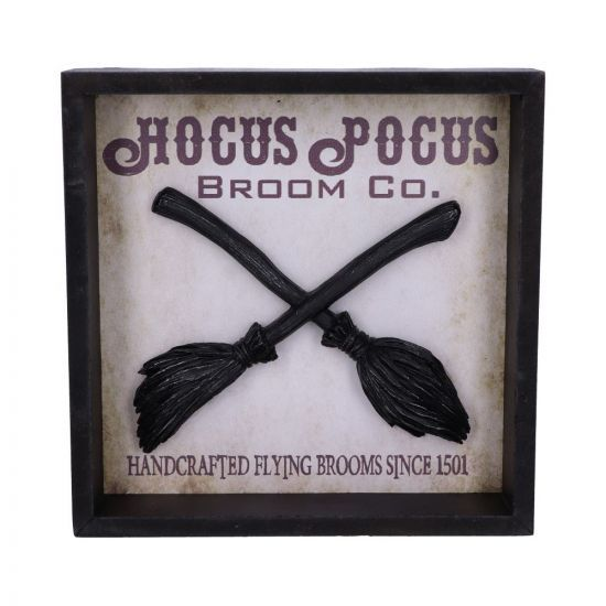 Hocus Pocus Broom Company Plaque 20cm