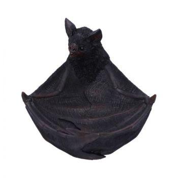 Winged Watcher - Bat Trinket Dish - 24cm