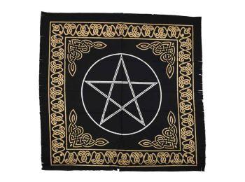 Altar Cloth - Pentagram - 60cm x 60cm