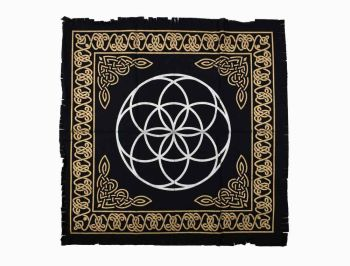Altar Cloth - Seed of Life - 60cm x 60cm