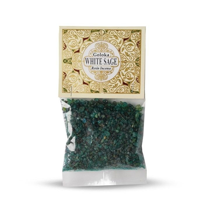 Goloka Resin Incense - White Sage