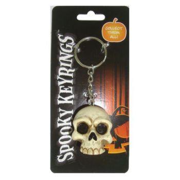 Spooky Keyrings - Skull