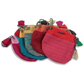 Small Tumblestone  / Pendulum Bag - Mixed Colours & Designs