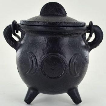 Cauldron Cast Iron - Small - Triple Moon Design