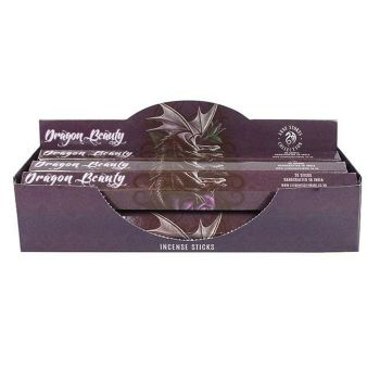 Elements - Anne Stokes Collection - Dragon Beauty - Amber Incense  Sticks