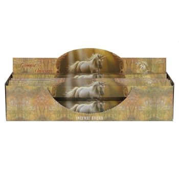 Elements - Anne Stokes Collection - Glimpse of a Unicorn - Sandalwood Incense  Sticks