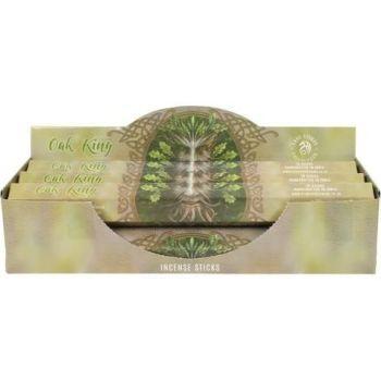 Elements - Anne Stokes Collection - Oak King - White Sage Incense  Sticks