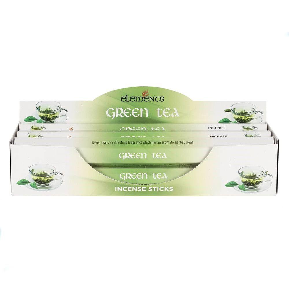 Elements - Green Tea Incense Sticks