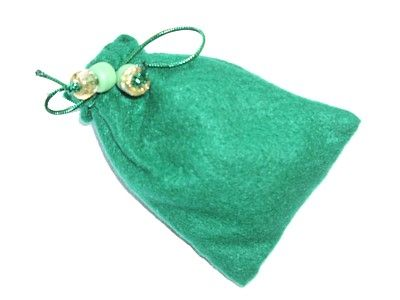 Witches Charm Pouch for Prosperity