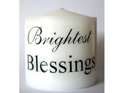 Candle - Brightest Blessings - 3.5cm