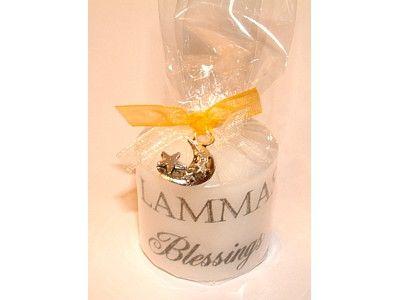 Candle - Sabbat - Lammas with Lucky Charm - 3.5cm