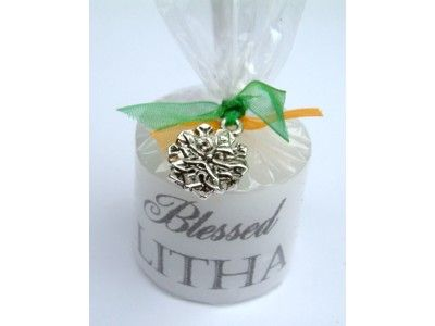 Candle - Sabbat - Litha with Lucky Charm - 3.5cm
