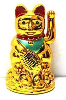 Golden Neko Waving Cat 10cm