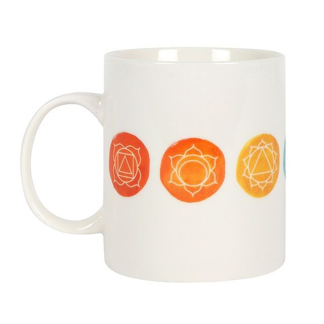 The Aligned Chakra Ceramic Mug
