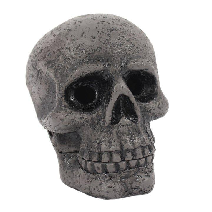 Incense Cone Burner - Black Skull