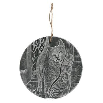 A Brush with Magick Plaque - Silver - By Lisa Parker